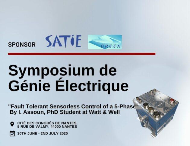 Symposium du génie électrique